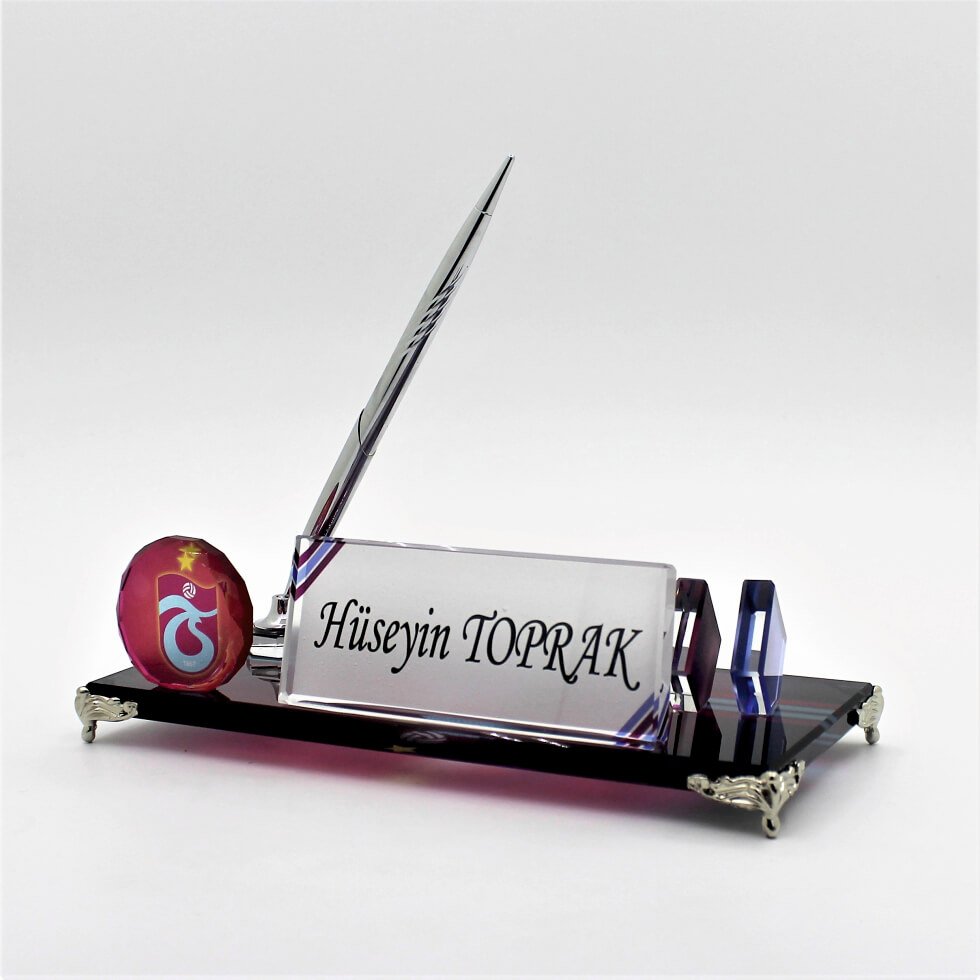 Trabzonspor Logolu Masa İsimliği